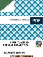 Espiritualidad Popular Eucarística
