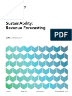 sustainability revenue forecasting guidance oct 2016  1