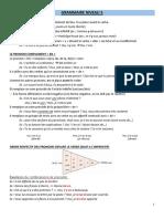 Resumen francés gramática