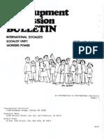 Regroupment Bulletin 01