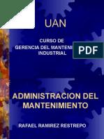 Administracion Del Mantenimiento 1c2aa Parte Agosto 2007