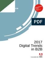 Adobe 2017 B2B Digital Trends