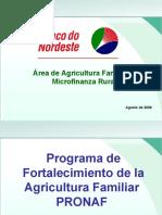 3 Apres PRONAF Em Espanhol