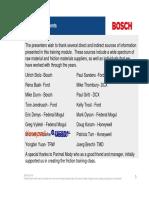 Bosch Friction Training