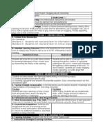 Enhanced Instructional Plan Carapella