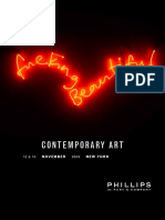 Catalogue  Contemporary Art Ny Nov Final