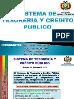Sistema de Tesoreria y Credito Publico