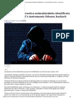 Amenintare Cibernetica Neimaiintalnita Identificata de Bitdefender! Ce Instrumente Folosesc Hackerii - Www.yoda