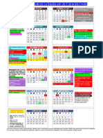 Calendari de 1 i 2 Curs de Catequesi Any 2017-2018 Pares