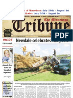 Front Page - July 30, 2010