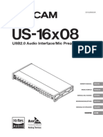 Owner Manual - Tascam 16x08