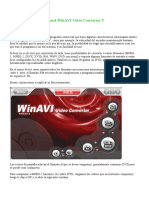 Manual WinAVI Video Converter 9