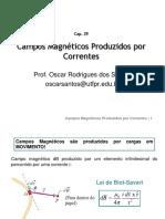 Cap. 29 - Campos Magneticos Produzidos Por Correntes