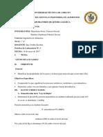 Fabi Quimica Informe