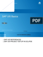Lessons SAP UI5 Project Setup