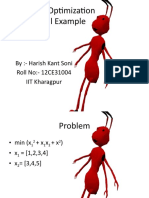 Ant Colony Numerical Example