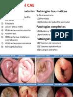 Patologías Del Conducto Auditivo Externo