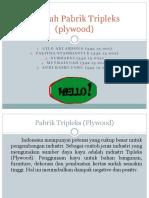 273049055-Limbah-Pabrik-Tripleks-Plywood.pptx