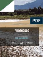 Protocolo de Degradación de Suelos Por Salinización