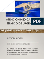 Atencion Medica en Urgencias