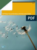 SAP NFE Security
