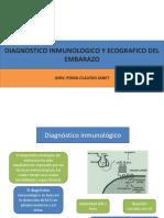 Dx Inmuno y Eco de Embarazo