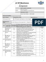 Sample Assignment Template