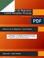 Modelos de Regresión Lineal-Variables ficticias - 1
