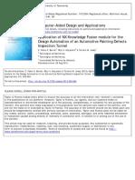 Computer-Aided Design and Applications Volume 9 Issue 5 2012 [Doi 10.3722%2Fcadaps.2012.655-664] Bernal, Z. Fabio a.; Alejandro, Rojo v.; Josep, Tornero M. -- Application of NX Knowledge Fusion Module