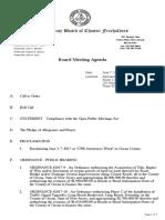 Oc Freeholder agenda 6/7/17