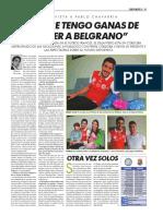 Pablo Chavarría en diario Perfil