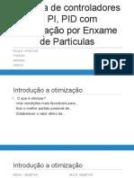 Otimização de Controladores P, PI, PID