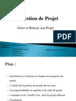 Gestion de ProjetChp34
