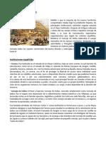 Instituciones Habsburgo Borbon - Economía y Sociedad