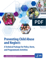 Preventing Child Abuse and Neglect: