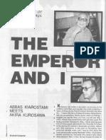 Abbas Kiarostami Meets Akira Kurosawa