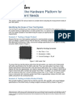 Identifying the Hw Platform Dor Measurement Needs