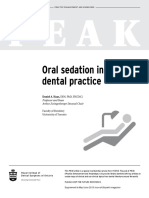 PEAK Oral Sedation in Dental Practice