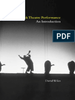 David Wiles -Greek Theatre Performance -an Introduction