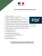 Liste Documents Visa2