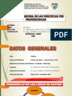 Diapositivas Informe Memoria