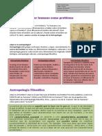 Ficha 3. Antropología Filosófica