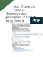 O Manual Completo de Atalhos e Segredos Das Pesquisas No Google