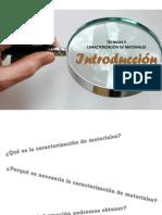 1. Introducción a Las Técnicas y Caracterización de MaterialesACT