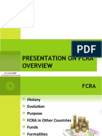 Presentation on FCRA Overview