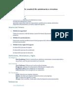 Especificación para el diseño Software