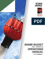 2013 Bambi Bucket Operations Manual VG