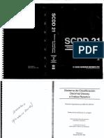 SISTEMA DE CLASIFICACIÓN DECIMAL DEWEY Completo