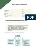 ¿Cuáles son los objetivos del tratamiento de la diabetes mellitus?