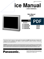 service manual  panasonic CT32HX40B